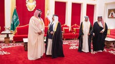 سعودی ولی عہد کی بحرینی فرمانروا سے ملاقات