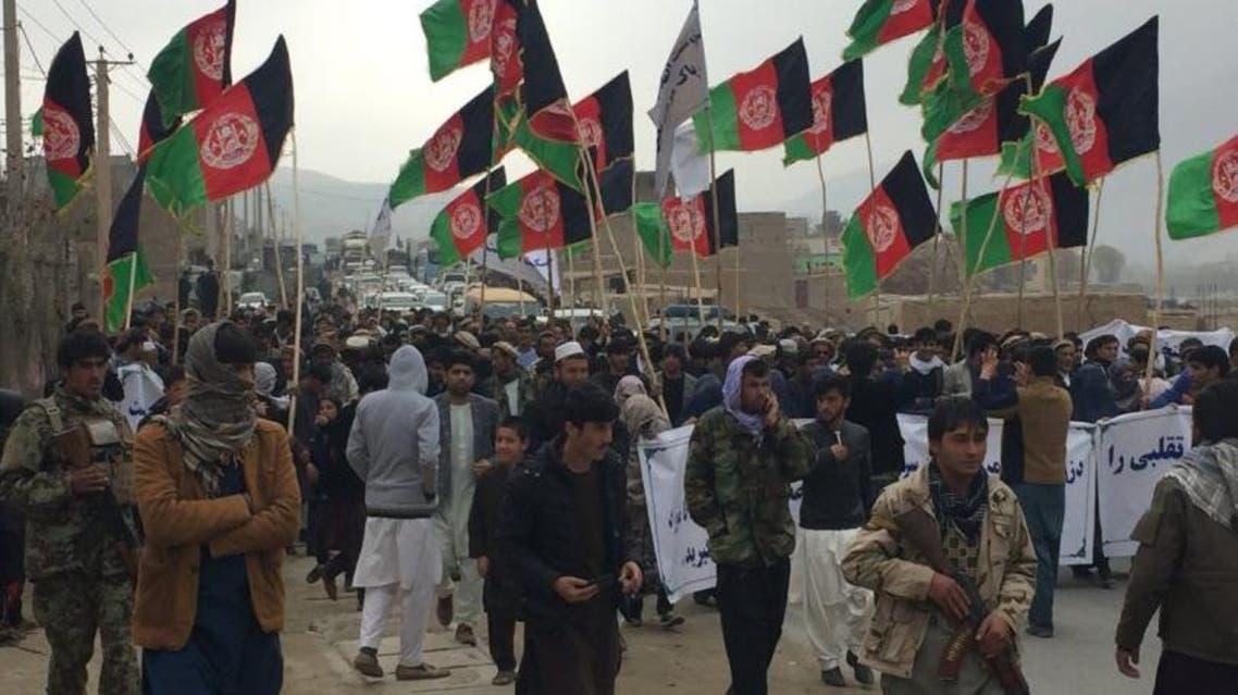 معترضان در افغاستان شاهراه بغلان – بلخ را بستند
