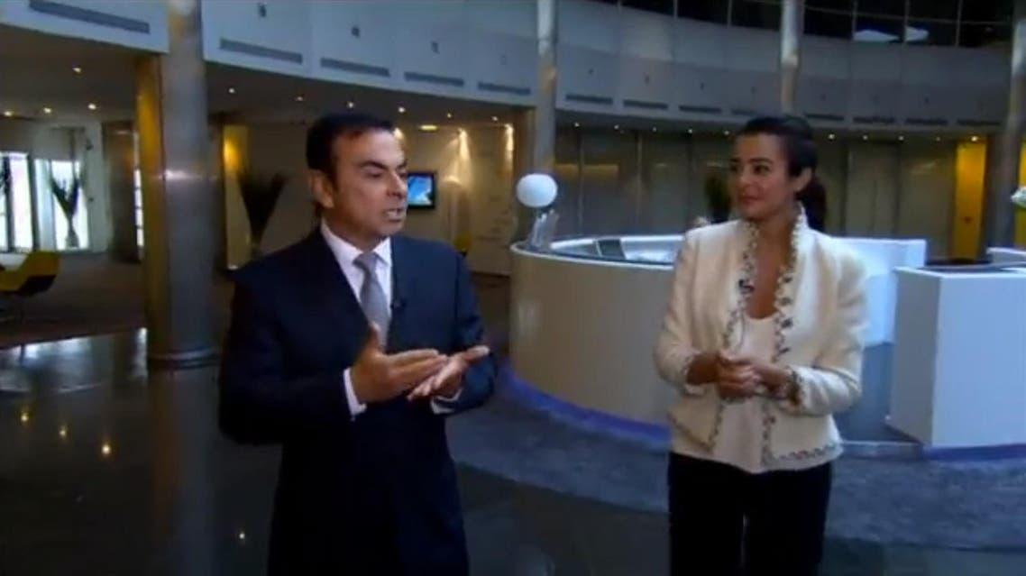 Carlos Ghosn al arabiya