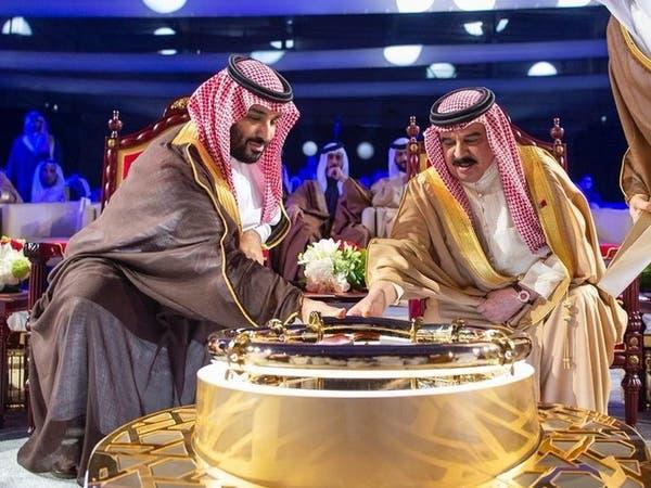 محمد بن سلمان وملك البحرين يدشنان خطاً نفطياً جديداً
