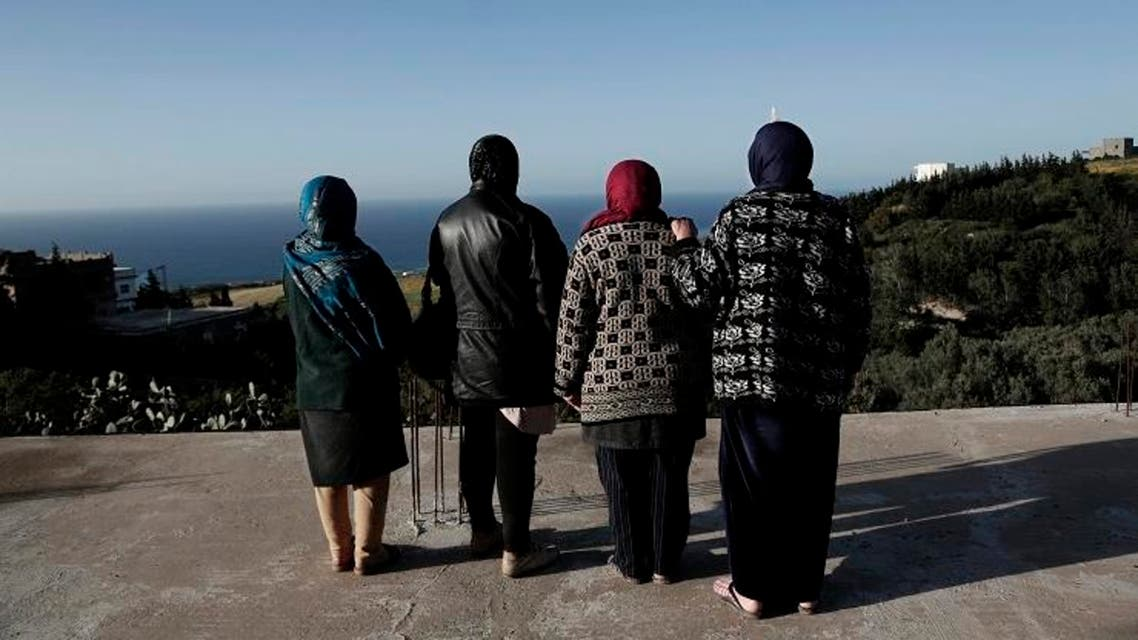 Those pictures tell the stories of missing Tunisians