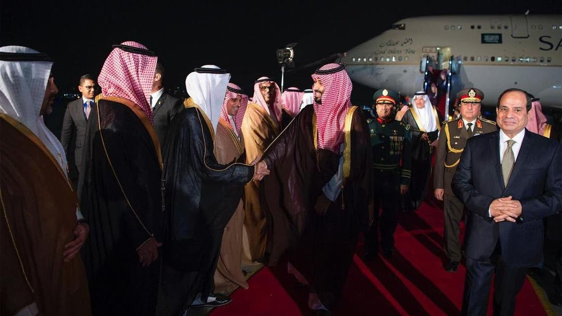 Saudi Arabia's Crown prince arrives in Cairo in third leg of regional tour