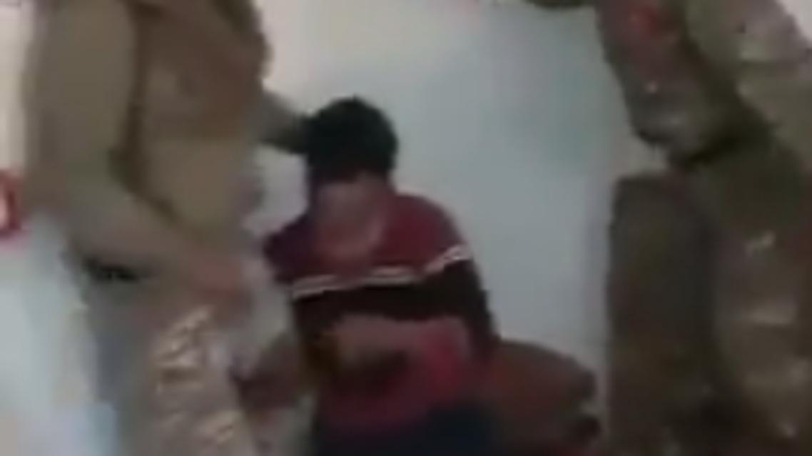 Syria torture. (Screengrab)a