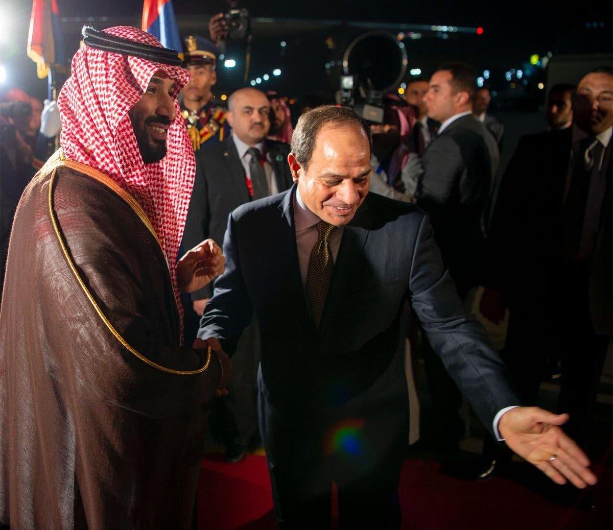 Saudi Arabia's Crown prince arrives in Cairo in third leg of regional tour