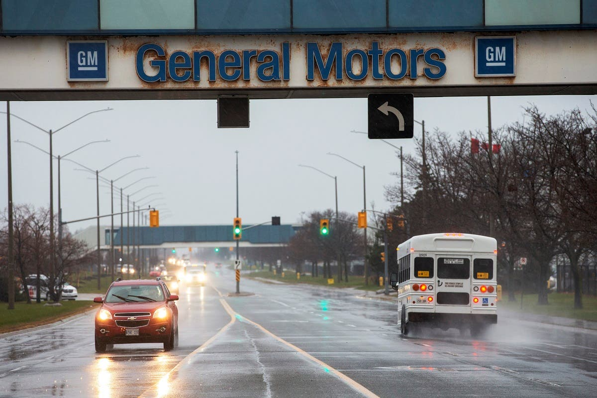 The General Motors assembly plant in Oshawa, Ontario, Canada. (Reuters)