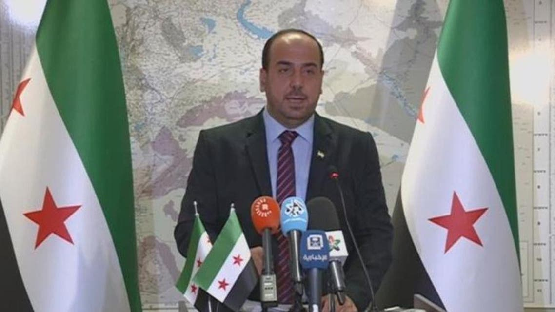 Syrian HIgh Negotiations Committee head Naser Hariri. (Supplied)