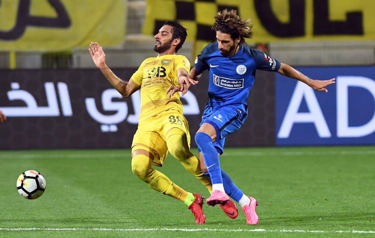 الوصل والنصر في الدوري الإماراتي