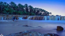 IN PICTURES: A Saudi valley with majestic waterfalls pulls in photographers