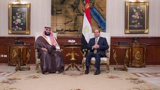 ولي العهد السعودي يصل القاهرة في ثالث محطة بجولته