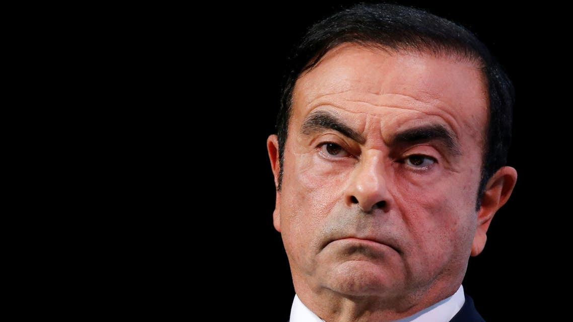 Carlos Ghosn, chairman and CEO of the Renault-Nissan-Mitsubishi Alliance, attends the Tomorrow In Motion event on the eve of press day at the Paris Auto Show, in Paris, France, October 1, 2018. Picture taken October 1, 2018. REUTERS/Regis Duvignau