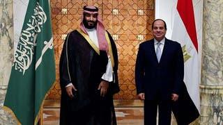 رئاسة مصر تكشف تفاصيل مباحثات السيسي وولي العهد السعودي