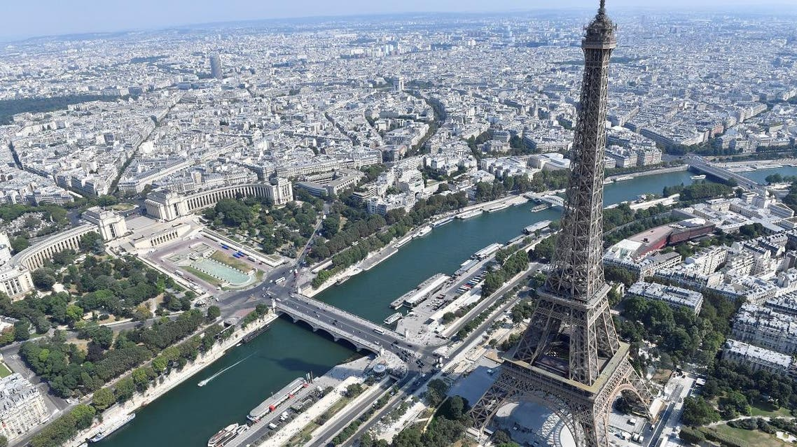 Paris, France aerial view. (AFP)