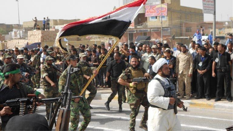 عناصر تابعة لميليشيات الحشد الشعبي