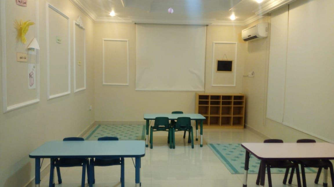 غرفة صفيه للأطفال قبل إعادة تهيئتها