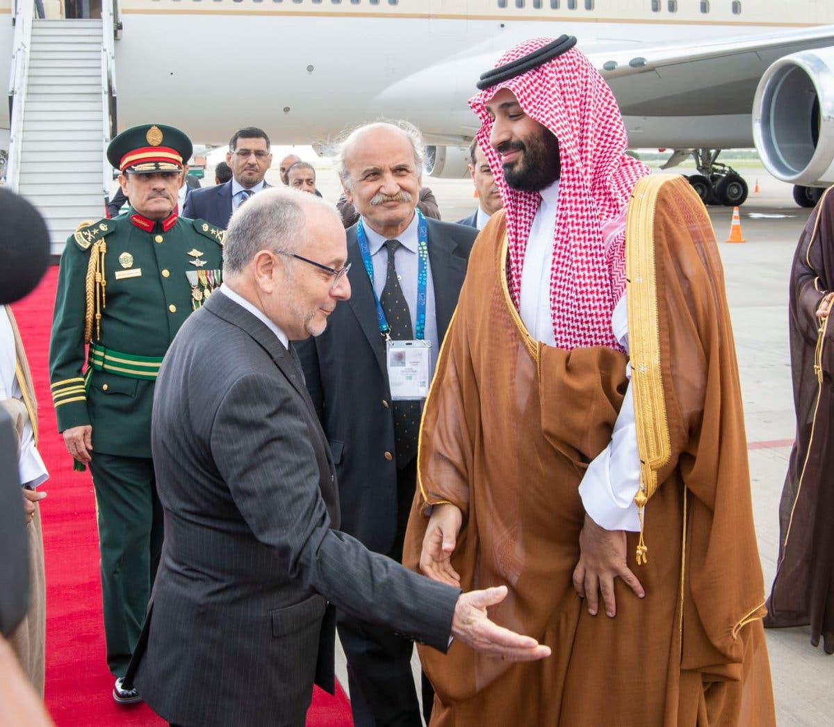 Saudi Crown Prince arrives in Argentina for G20 summit