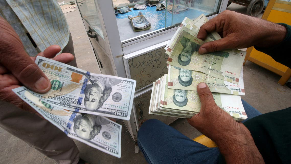 ريال إيراني دولار أميركي