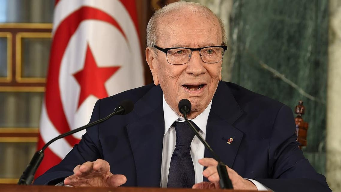 Tunisian President Beji Caid Essebsi (AFP)