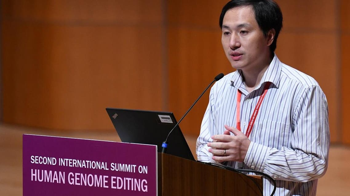 Chinese Scientist He Jiankui used a gene-editing technology (AFP)