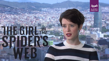 Claire Foy reveals what playing Lisbeth Salander made her realize about herself