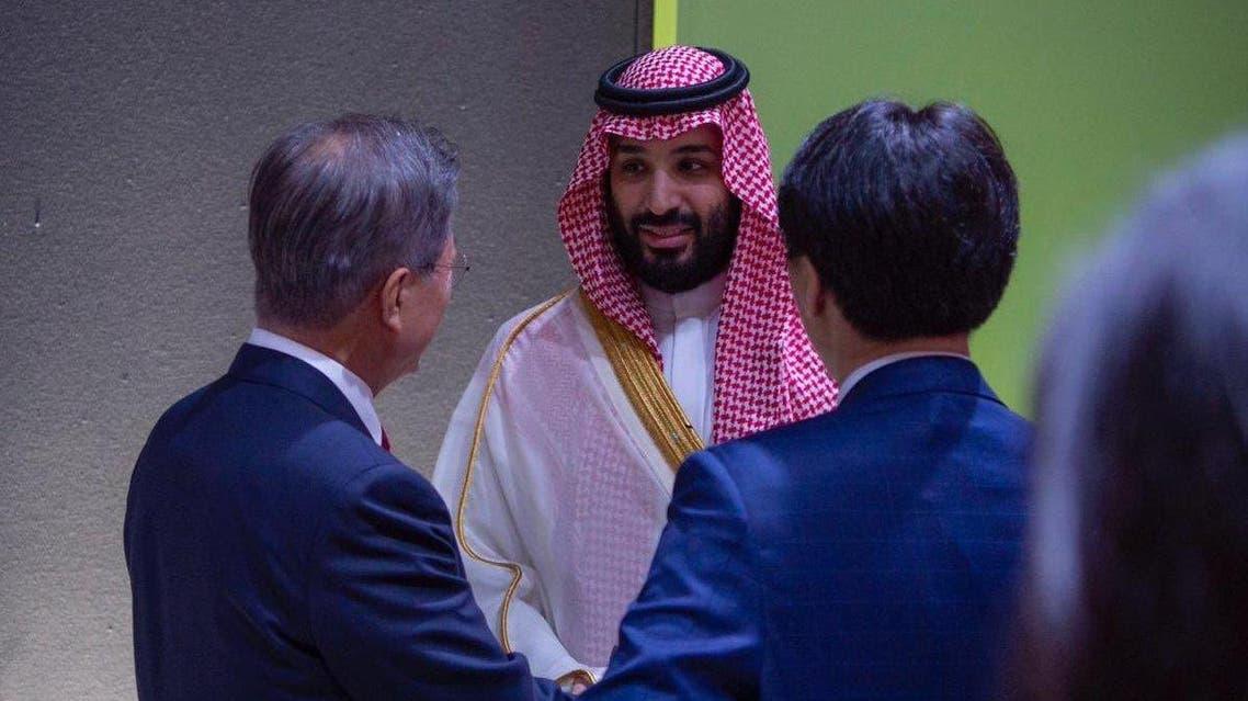 Saudi crown prince and moon (Supplied)