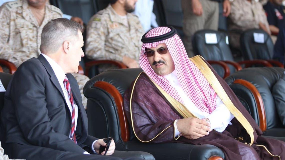 محمد آل جابر والسفير الأميركي لدى اليمن