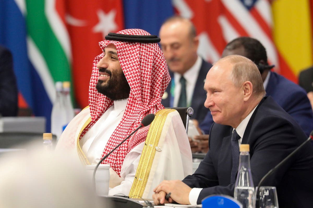Saudi crown prince and Putin 4(AFP)