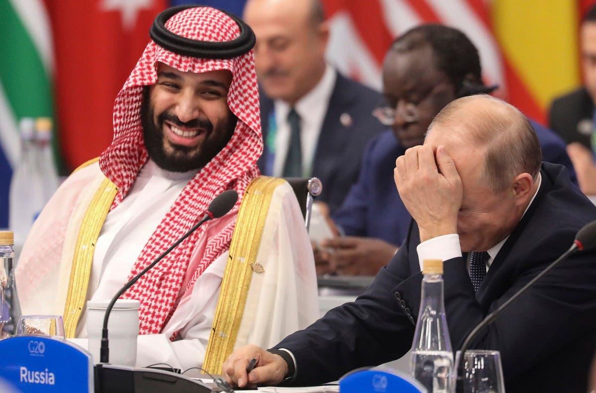 Saudi crown prince and Putin 3(AFP)