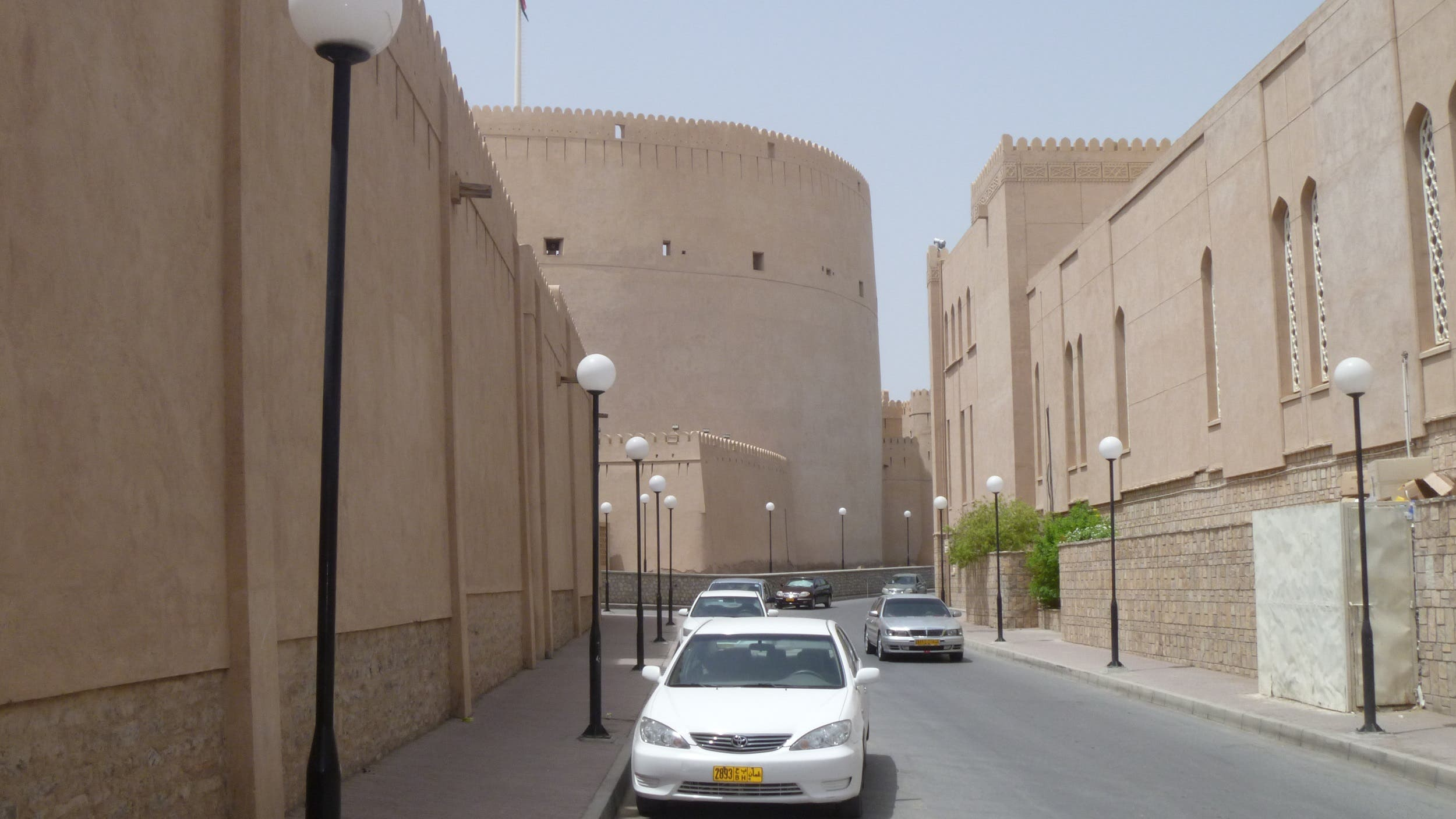 Nizwa's important role in the long history of Oman's interior region is reflected in this massive circular fort situated next to a big mosque. (Supplied)