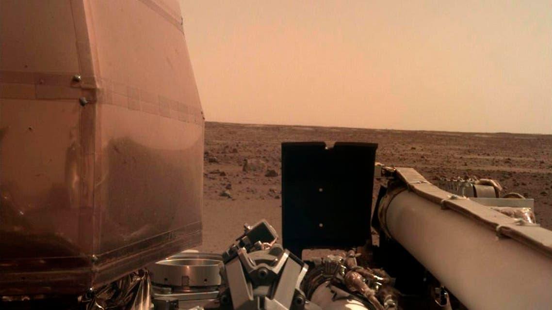 NASA mars InSight landing. (AP)