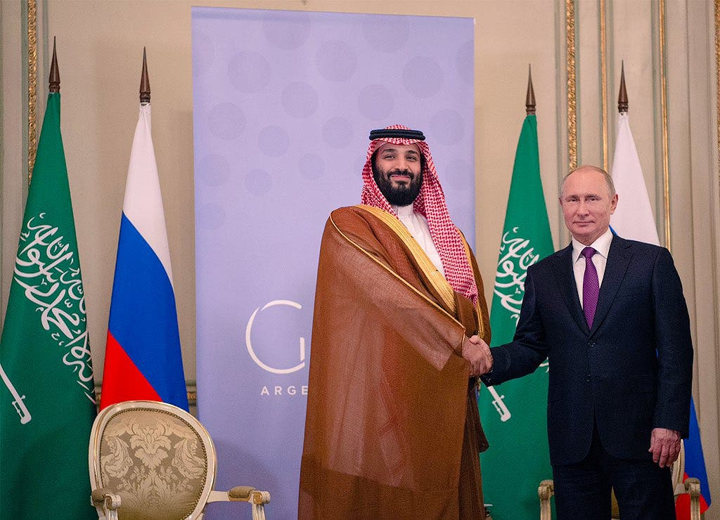 Saudi Crown Prince meets with Russian President Vladimir Putin