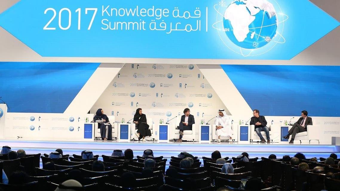Last year's Knowledge Summit organised by the Mohammed Bin Rashid Al Maktoum Foundation. (Supplied)