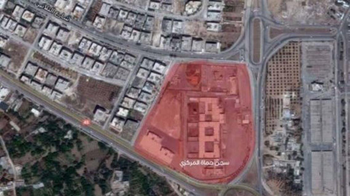 سجن حماة المركزي