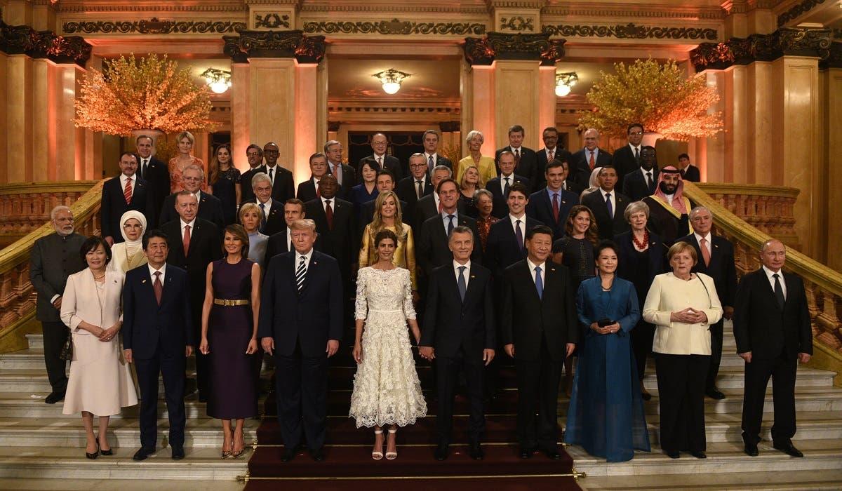 Saudi Crown Prince Argentina (AFP)