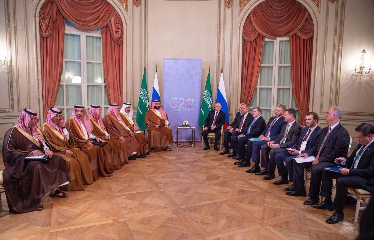 Saudi Crown Prince meets with Russian President Vladimir Putin main