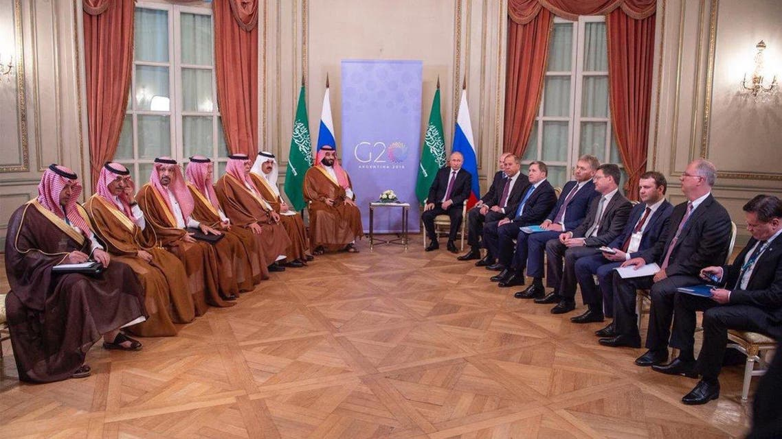 Saudi Crown Prince meets with Russian President Vladimir Putin main
