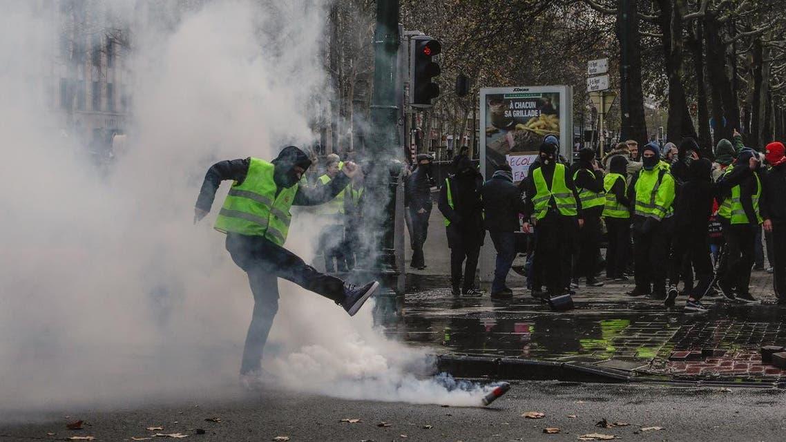 France protests. (AFP)