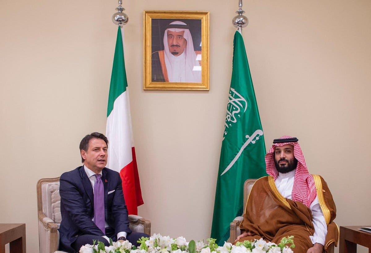 Saudi Crown Prince meets Italian Prime Minister Giuseppe at G20 summit