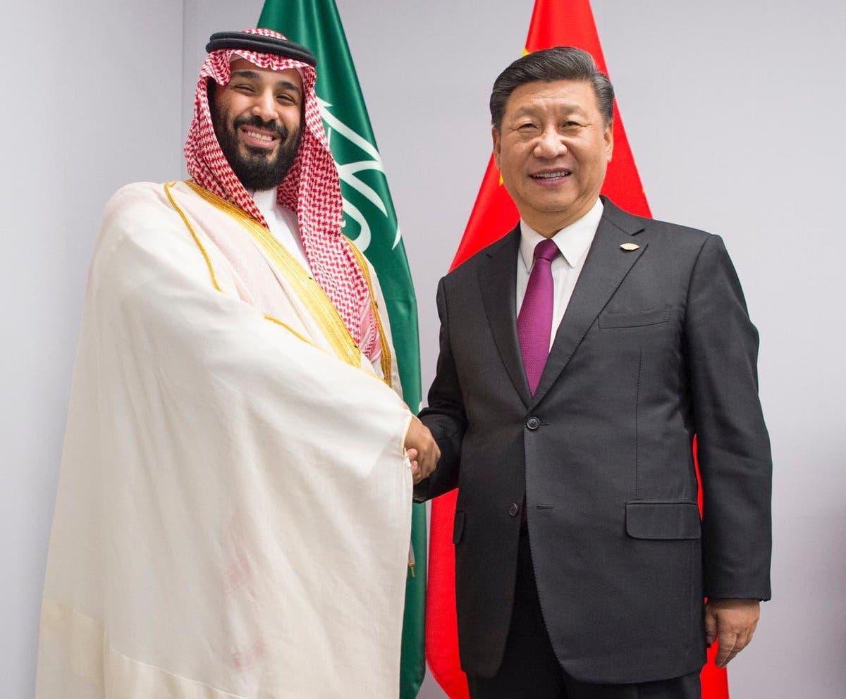 الأمير محمد بن سلمان يلتقي الرئيس الصيني