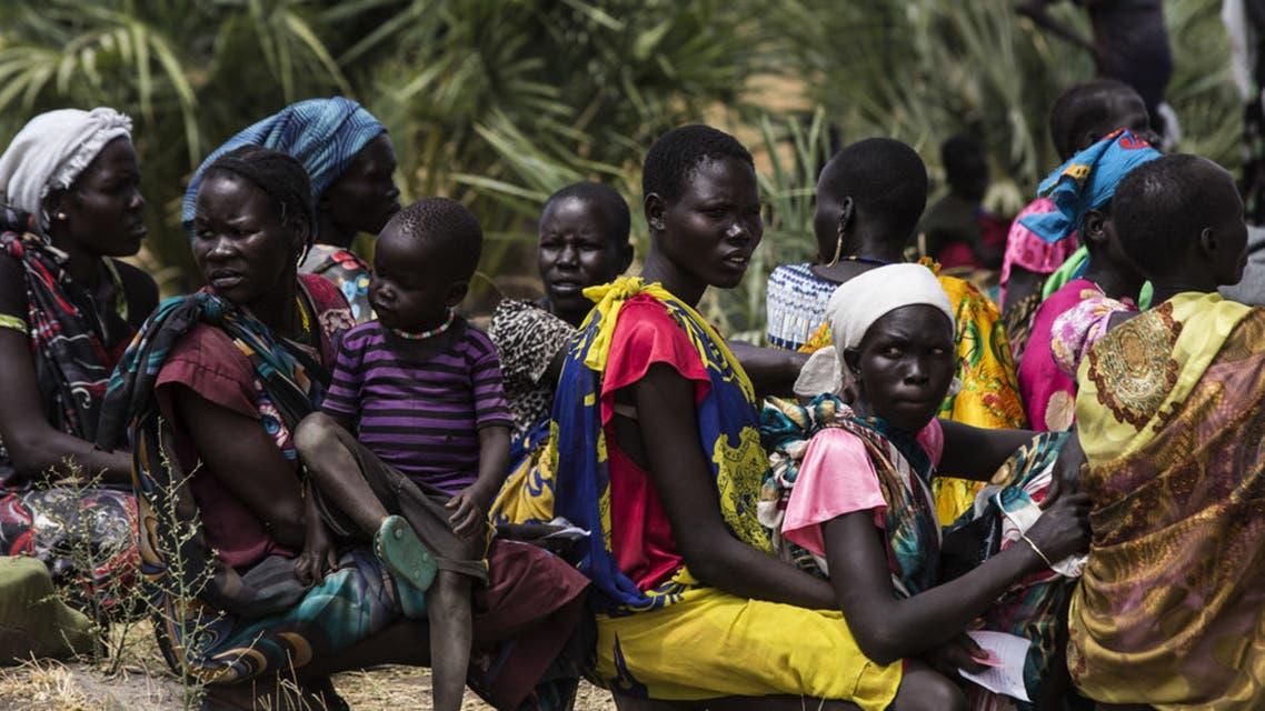 جنوب السودان نساء