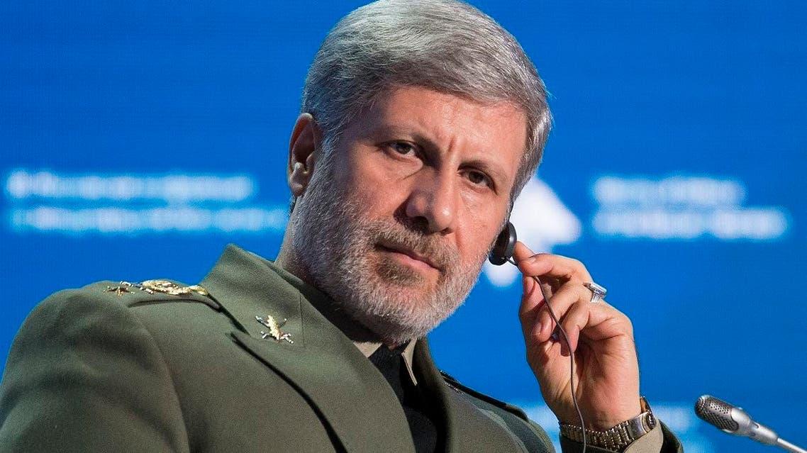 Iranian Defense Minister Amir Hatami (AP)