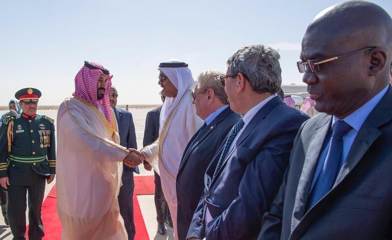 Crown Prince in Mauritania 1 (SPA)