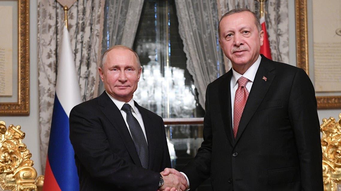 بوتين أردوغان اسطنبول