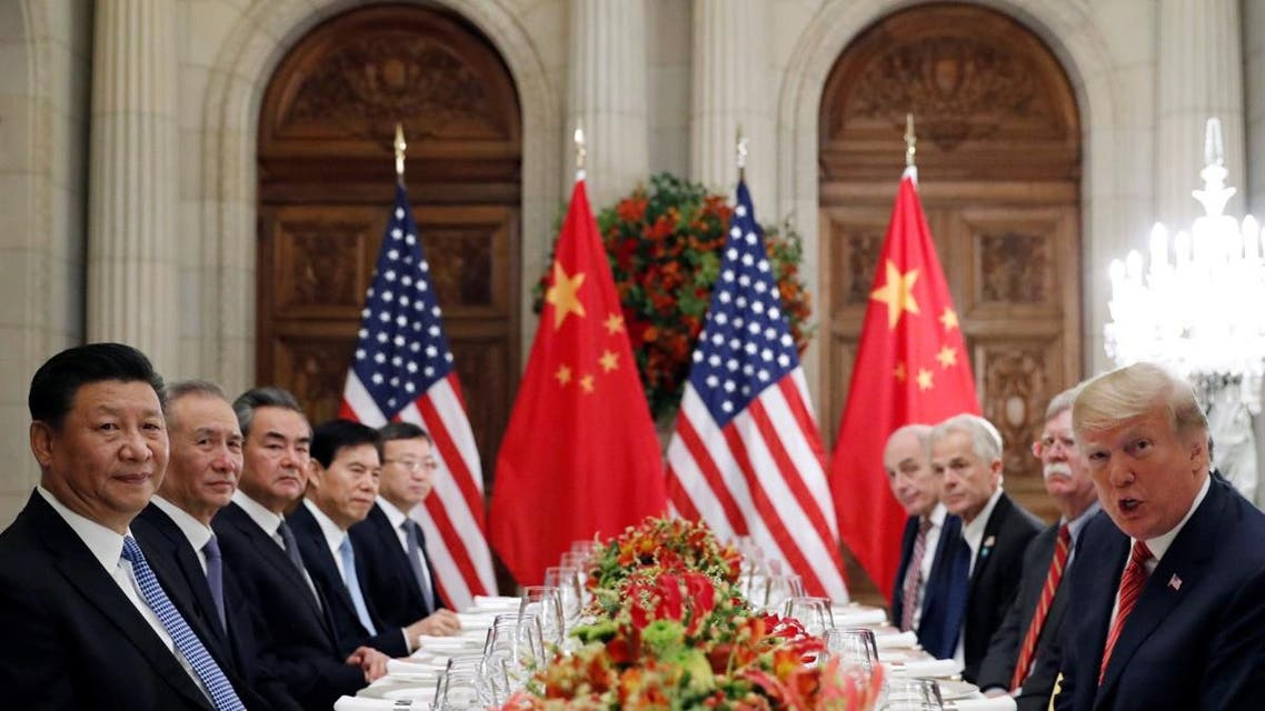 U.S. President Donald Trump and Chinese President Xi Jinping meet after the G20 in Buenos Aires. (Reuters)