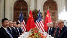 Trump, meeting China's Xi, voices hope for progress on trade dispute