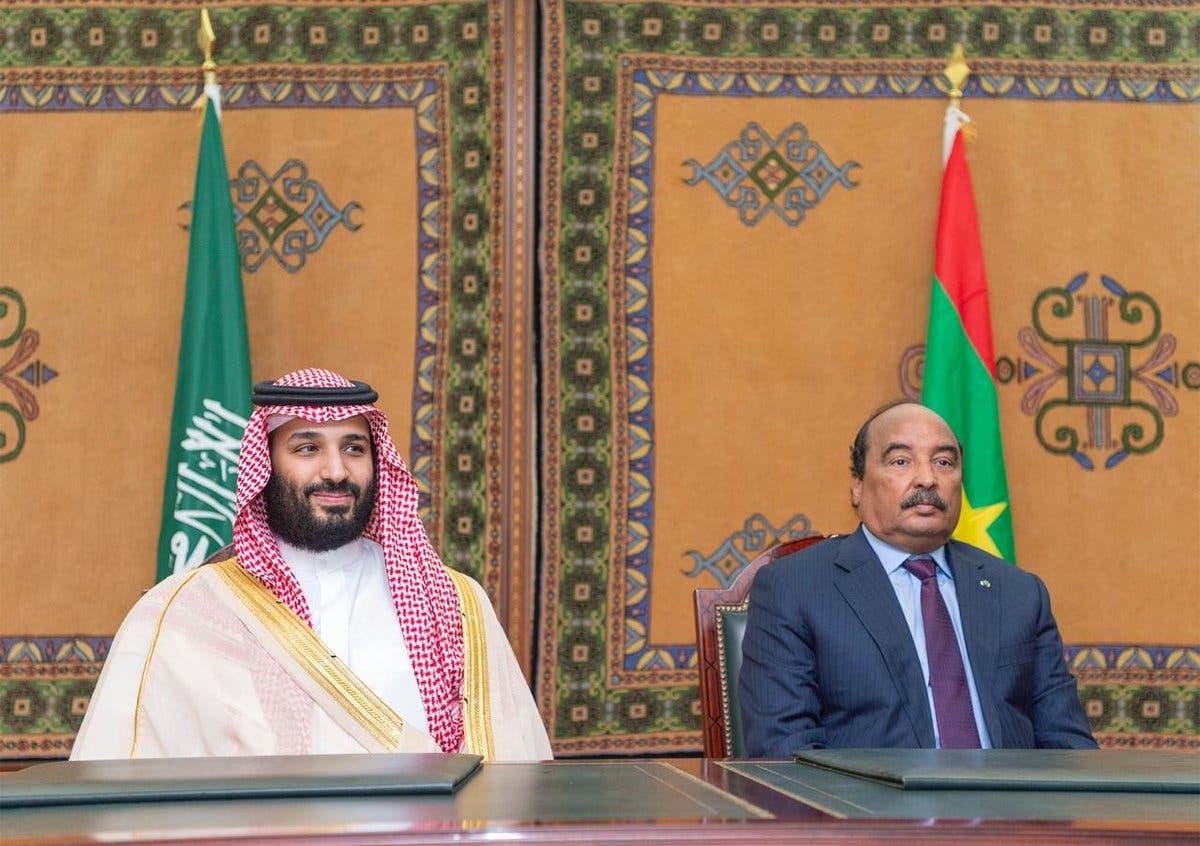 Mauritania Saudi Crown Prince Mohammed bin Salman