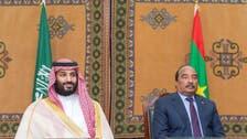 ولي العهد السعودي يستأنف جولته العربية من موريتانيا
