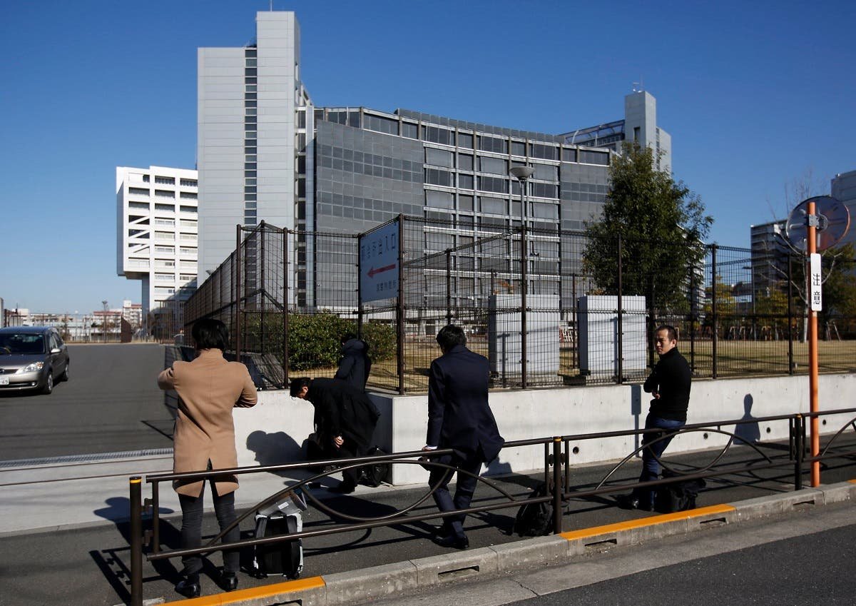 Tokyo Detention Center, where Nissan's arrested chairman Carlos Ghosn is being held, in Tokyo, Japan November 30, 2018. (Reuters)