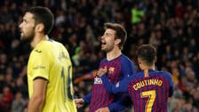 Barcelona see off Villarreal to return to top of La Liga