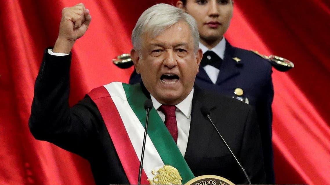 Mexico President Andres Manuel Lopez Obrador. (Reuters)