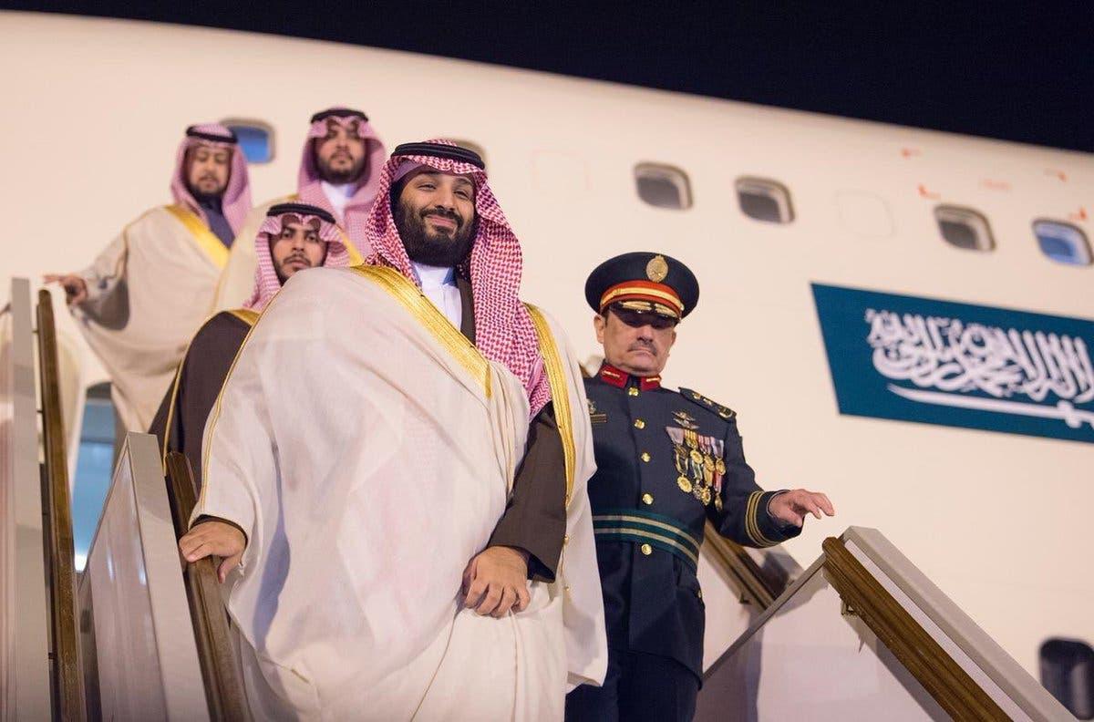 Saudi Crown Prince Mohammed bin Salman arrives in Algeria main 1